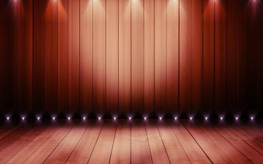 Vorhang auf – Bühnefrei