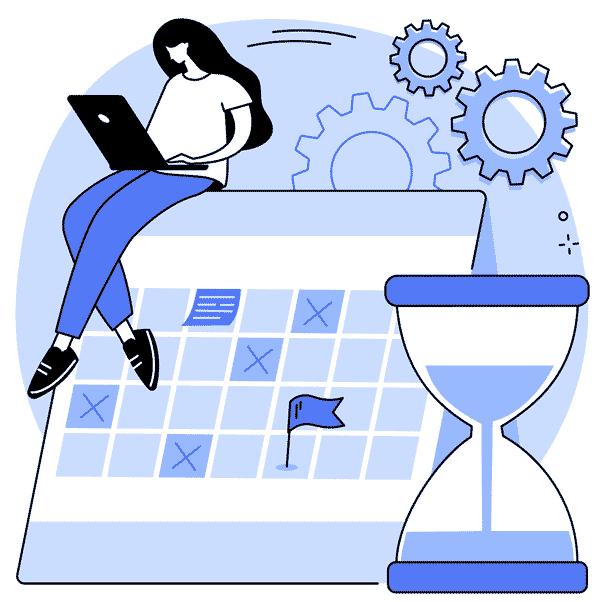 Deadline Ziele ereichen Plan